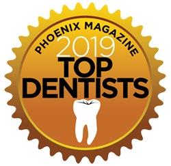 2019 Top Dentists badge